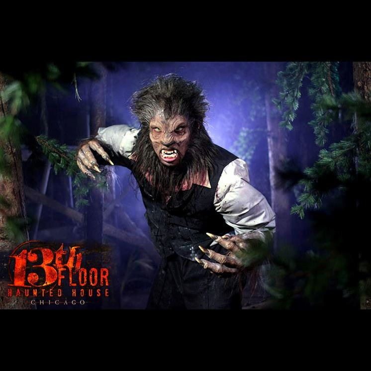 Cheap Haunted Houses Chicago Il: 13th Floor Haunted House Chicago