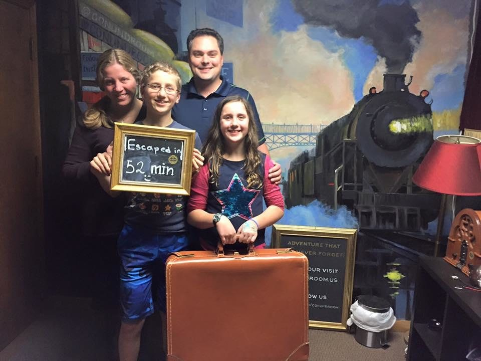 Conundroom Quest Real Escape Room Redmond Wa