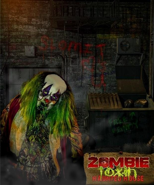 Haunted Places In Pa Halloween: Zombie Toxin Haunted House