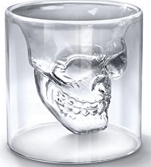 Skull-Molded Glasses - Amazon.com.