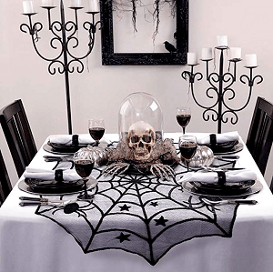 Spider Lace Table Topper Cloth - Amazon.com.